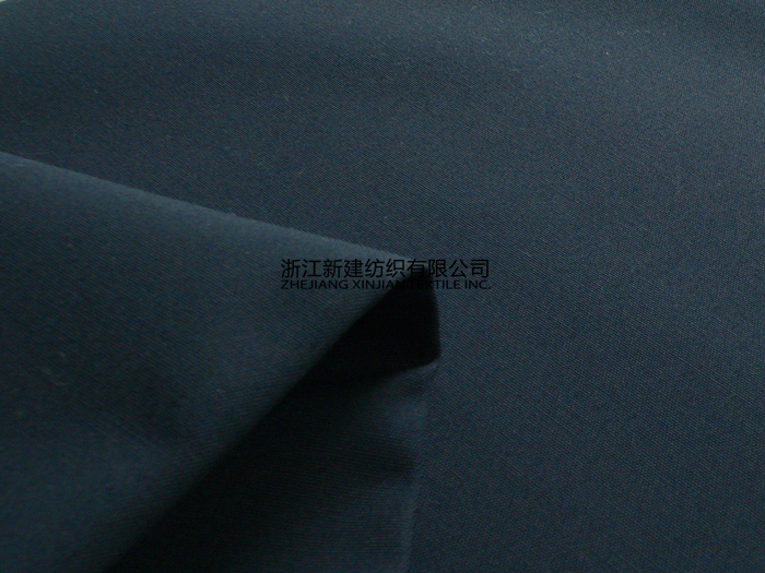 TC Black Uniform Fabric Winter Polyester/Cotton with Waterproof