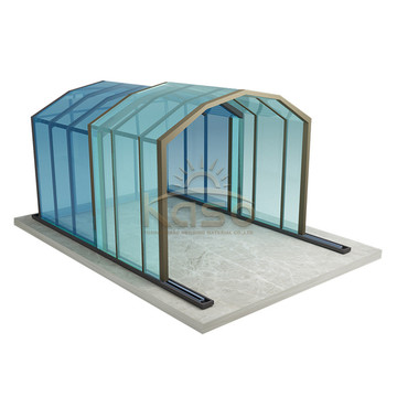 ODM for China Swimming Pool Enclosures,Retractable Pool Enclosure,Retractable Swimming Pool Enclosures Manufacturer Swimming Pool Cover Screen Price Roof Patio Enclosure export to Mongolia Manufacturers