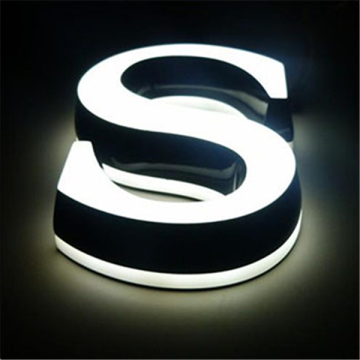 LED Embbeded Small Acylic Plastic Letters