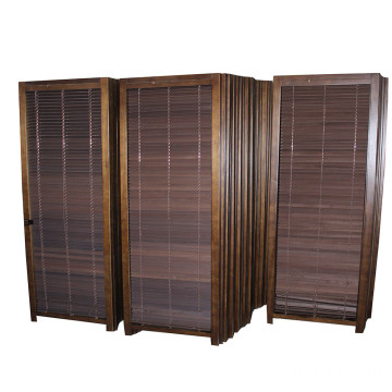 Best selling low order quantity wholesale vintage engraving wooden screen