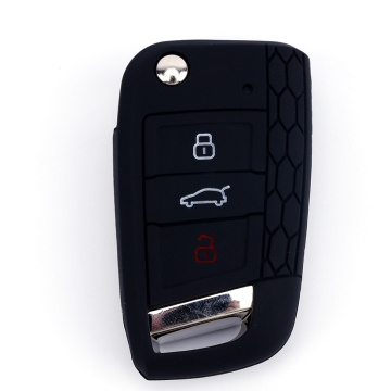 custom logos VW car key cover for wholesale