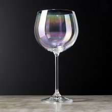 High Quality for Glass Goblet Clarity Iridescent Wine Glass Goblet export to American Samoa Manufacturers