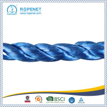 Cheap for 3 Strands Twist PP Split Film Rope High Strength Split Film Polypropylene Rope for Agriculture supply to New Zealand Wholesale