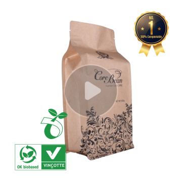 500g coffee bags with valve and ziplock