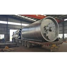 Special for Tyre Pyrolysis Equipment newly automatic discharging waste tyre pyrolysis plant export to Papua New Guinea Manufacturer