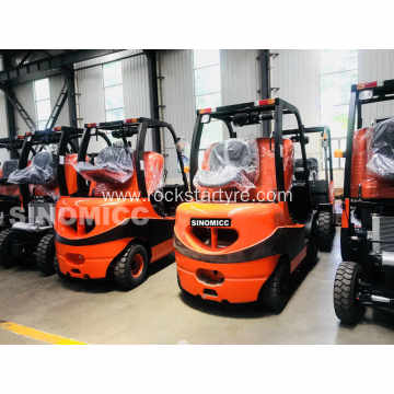 2WD  Rough Terrain Forklift Articulated forklift CPCD35Y