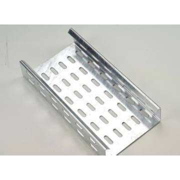Hot-dip galvanized stainless steel perforated cable tray