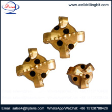 4 wings pdc drag rock drill bit