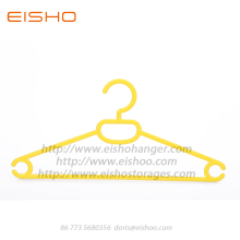 EISHO Sturdy Plastic Adult Coat Hanger For Clothes
