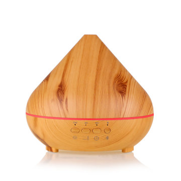 OEM for Bluetooth Oil Diffuser Wood Grain Aromatherapy Essential Oil Aroma Diffuser Speaker export to Lithuania Wholesale