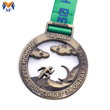 No minimum marathon awards finisher medals for sports