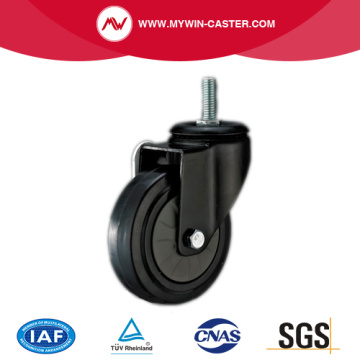 Thread Stem Rubber Industrial Caster