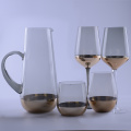 Copper Based Glass Drinking Set