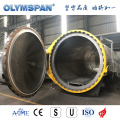 ASME standard fiber glass material treatment autoclave