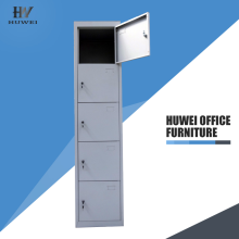 100% Original Factory for School Multi Tiers Locker Steel 5 tier employee cabinet locker export to Tokelau Wholesale