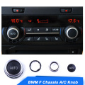 A/C Control Switch Knob Button For BMW