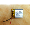 45mAh Lithium ion Polymer Battery for Smartwatch (LP1X2T3)