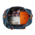 Travel Duffel Bag Overnight with Shoe Pouch 40L