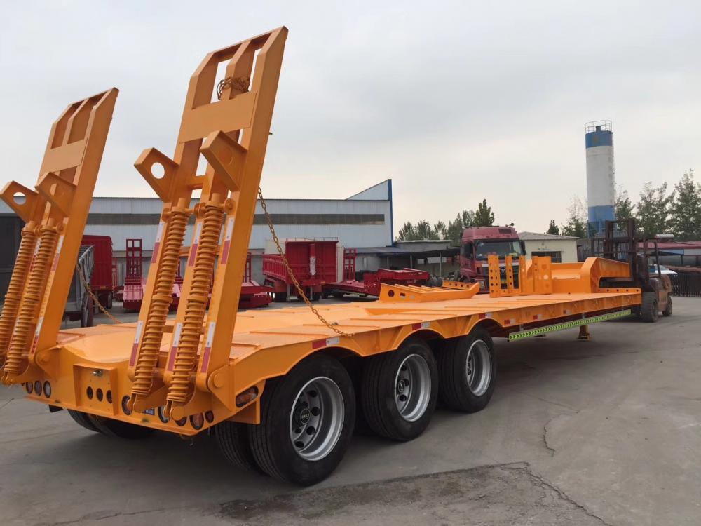 60 T Low Bed Trailer