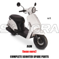 AGM SWAN SCOOTER BODY KIT ENGINE PARTS COMPLETE SCOOTER SPARE PARTS ORIGINAL SPARE PARTS