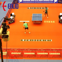 High Quality for Table Tennis Sports Flooring ping-pang ball mats/competition courts/game mats supply to Indonesia Factories
