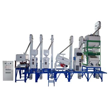 30 Tons rice milling equipment