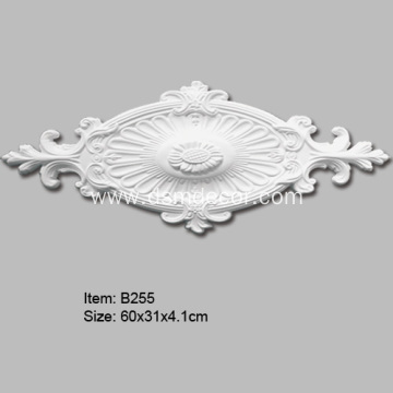 Oval Polyurethane Decorative Ceiling Medallion