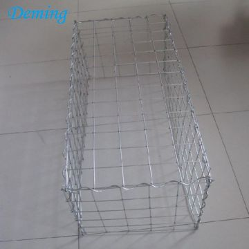 Heavy Galvanized Steel Wire Welded Gabion Cages