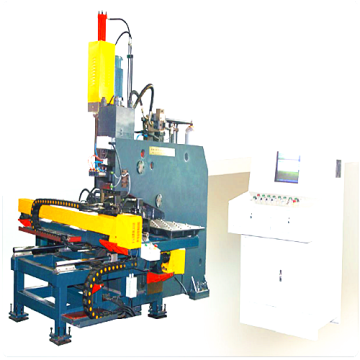 CNC Plate Punching Marking and Drilling Machine