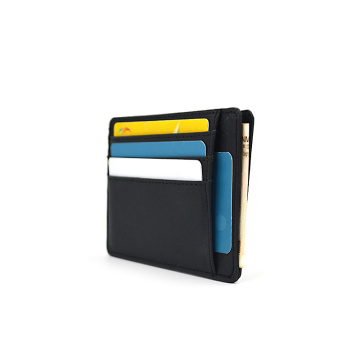 Personalized Travel Wallet Saffiano Leather Cardholder