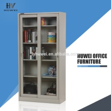 China for Sliding Door Office Cabinet Glass Sliding Door Steel Cupboard Storage Cabinets export to Kazakhstan Wholesale