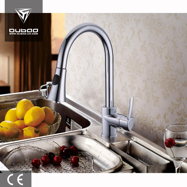 Kitchen Faucets In Chrome Ob D19