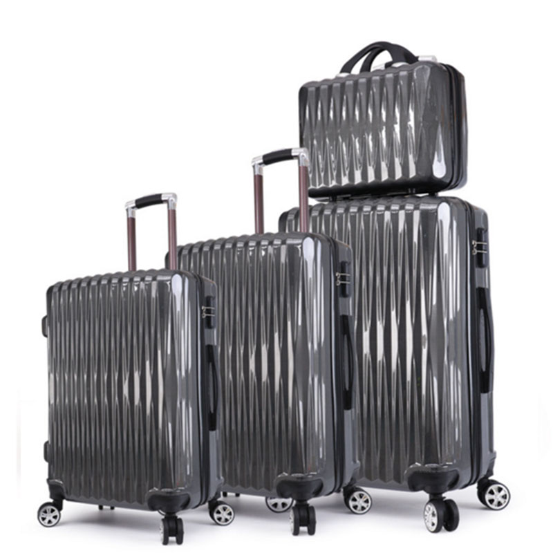 Black luggage sets