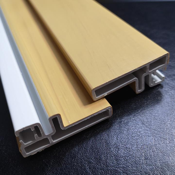 woodgrain uPVC profiles 1