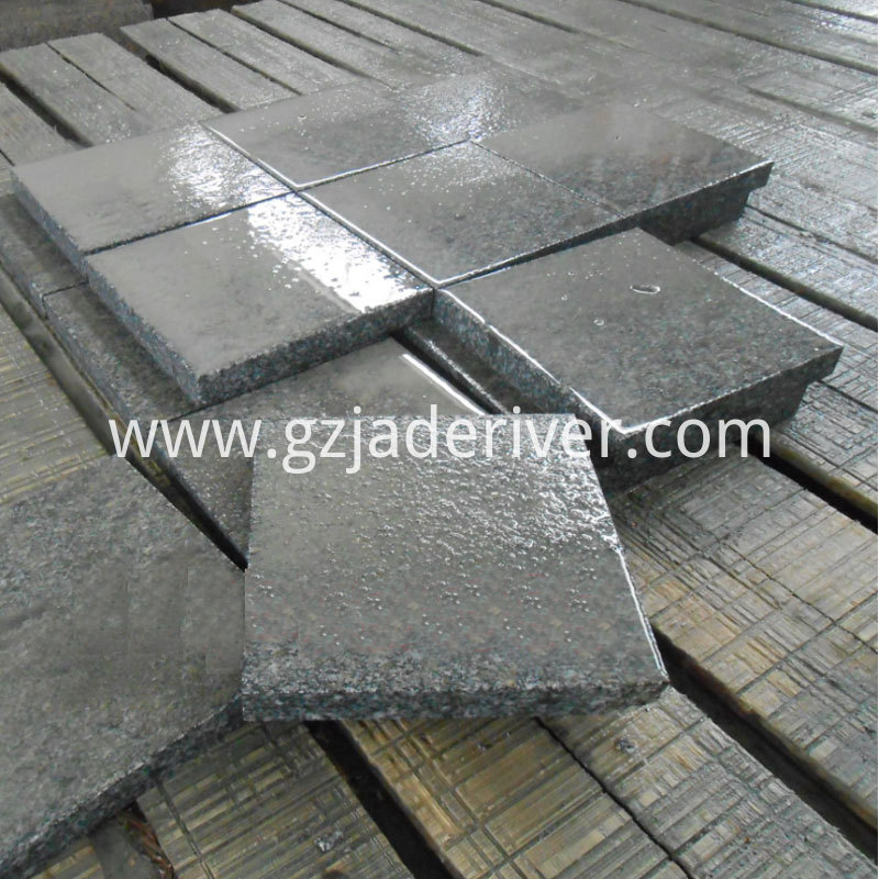 Granite has a smooth and delicate surface