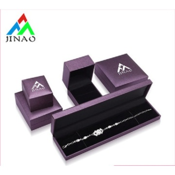 Factory price pu leather ring box with logo