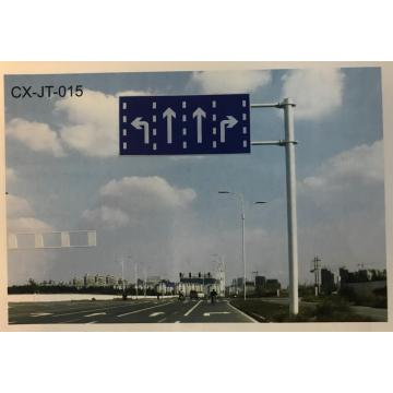 Secondary Reflective Traffic Sign