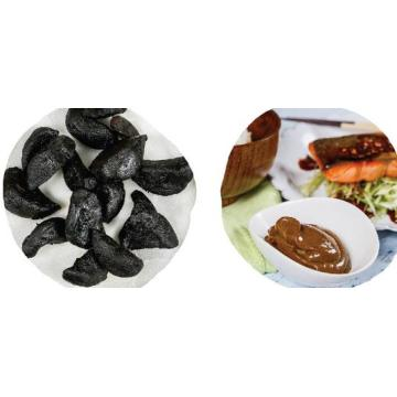 Fermented bulb Peeled black garlic