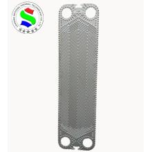 Hastelloy plate heat exchanger ss304/ ss316l v45 plate