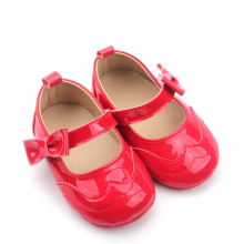 New Genuine Leather Christmas breathable Baby Shoes Girls