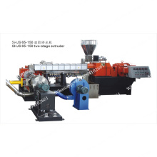 High Speed Two stage pelletizing extruder line