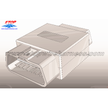 Top for OBD2 Diagnostic Connectors OBD Connector Female To Male Cable export to Japan Suppliers