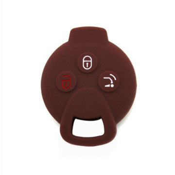Popular silicone rubber car key cover for Benz
