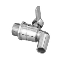 stainless steel bsp ball valve drain tap 1/2 inch