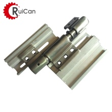 OEM customized 90 180 270 degree adjustable gate folding close bathroom door concealed locking rotating stop hinge