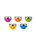 Stainless Steel Anti-ironing Colorful Bowl