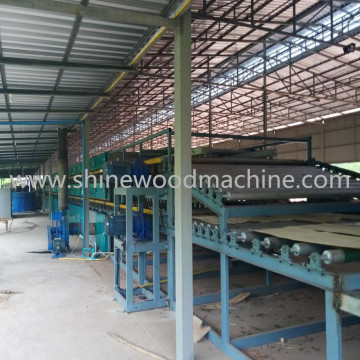Core Veneer Roller Dryer Machine