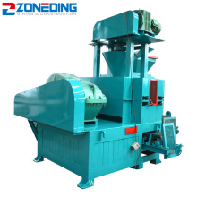 Energy Saving Iron Aluminum Ore Charcoal Briquette Machine