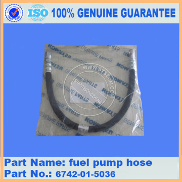 PC300-7 fuel pump hose 6742-01-5036 komatsu excavator parts