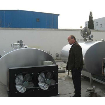 Refrigerated milk cooling storage tank price